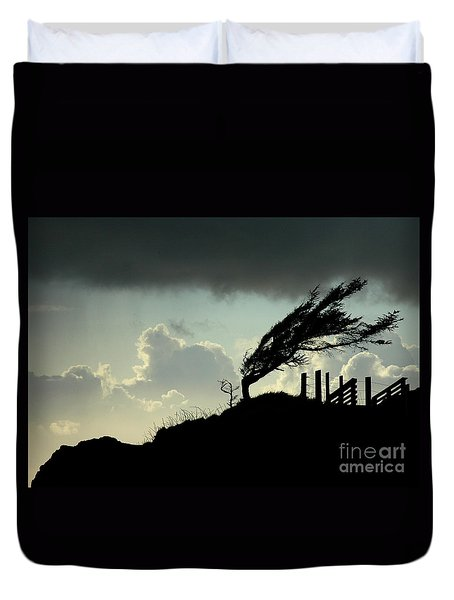 Duvet Cover featuring the photograph  The Test Of Time by Nick  Boren
