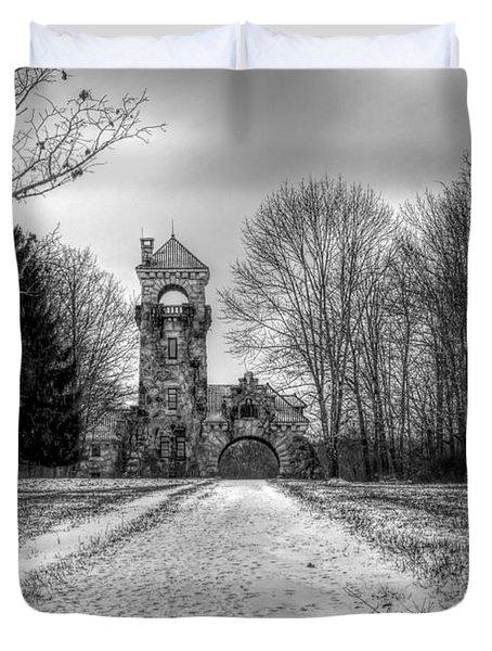 Testimonial Gateway Tower Duvet Cover