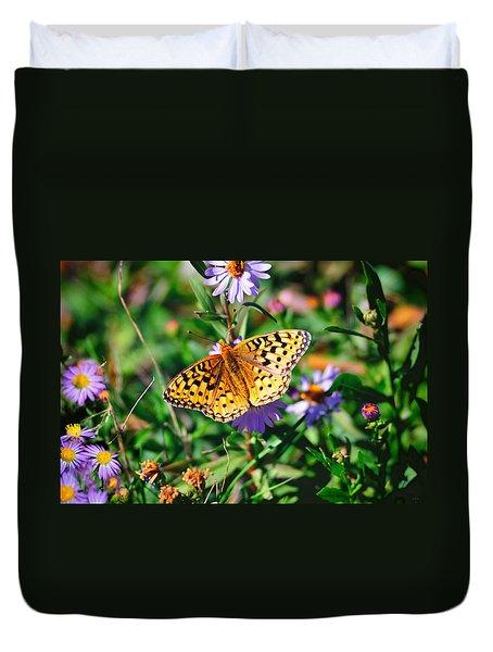 Teton Butterfly Duvet Cover