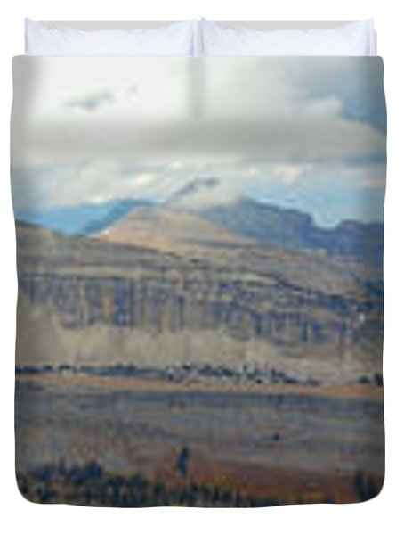 Teton Canyon Shelf Duvet Cover