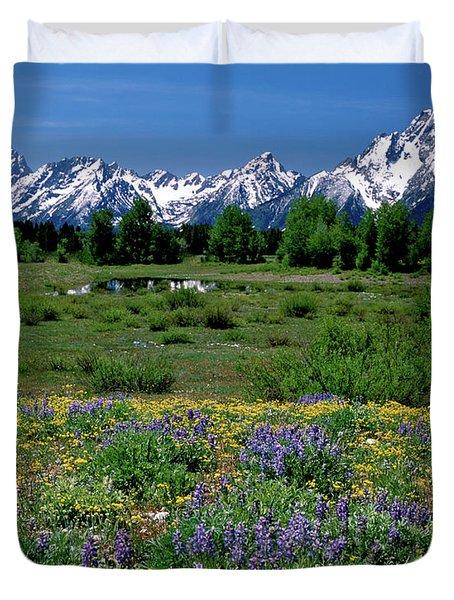 Teton Grandeur Duvet Cover