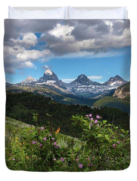 Teton Range Duvet Cover