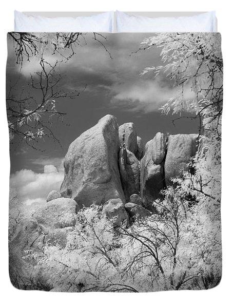 Texas Canyon  Duvet Cover