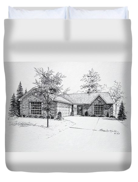 Texas Home 1 Duvet Cover by Hanne Lore Koehler