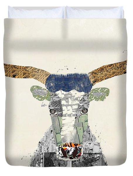 Texas Longhorn Duvet Cover