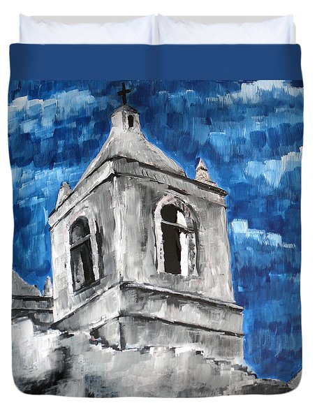 Mission San Jose Duvet Cover