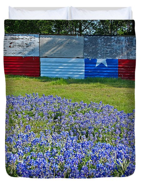 Texas Proud Duvet Cover