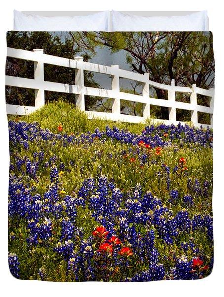 Texas Spring Duvet Cover by Brian Kerls