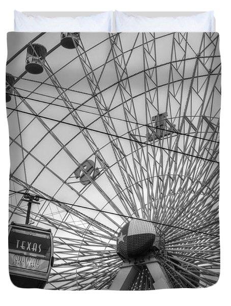 Texas Star Ferris Wheel Duvet Cover