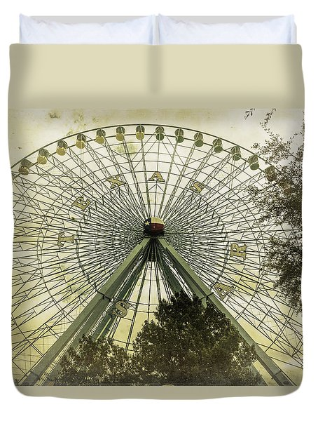 Texas Star Old Fashioned Fun Duvet Cover