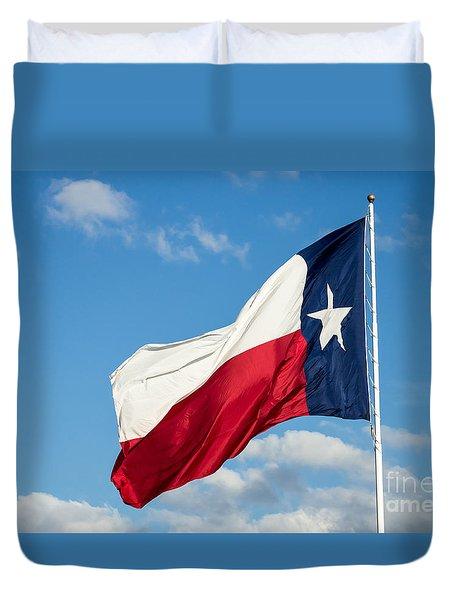 State Flag Of Texas Duvet Cover