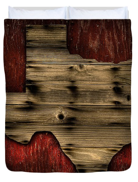 Texas Wood Duvet Cover