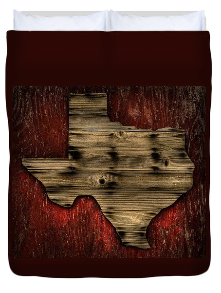 Texas Wood Duvet Cover