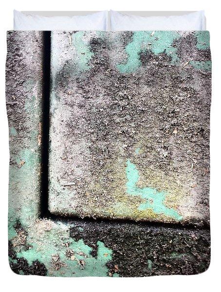Green Box 3 Duvet Cover