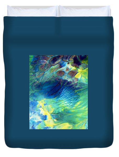 Textured Abstract 5 Duvet Cover
