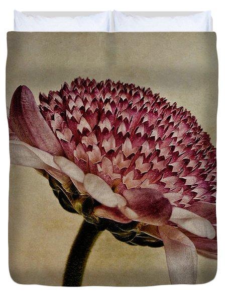 Textured Mum Duvet Cover by John Edwards