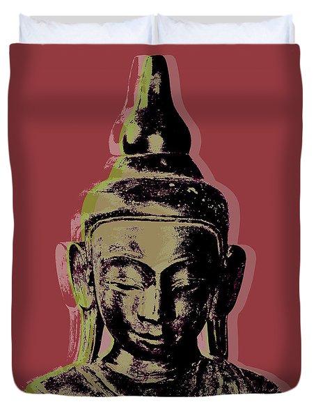 Thai Buddha #1 Duvet Cover