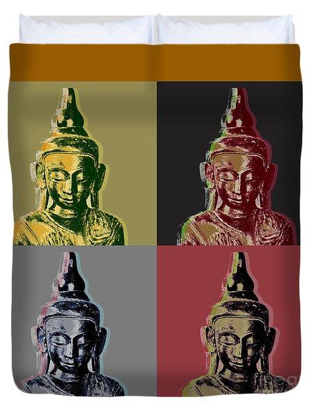 Thai Buddha Duvet Cover