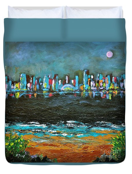That Other Place Duvet Cover by Reb Frost