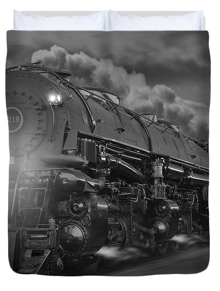 The 1218 On The Move 2 Duvet Cover by Mike McGlothlen