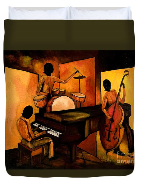 The 1st Jazz Trio Duvet Cover
