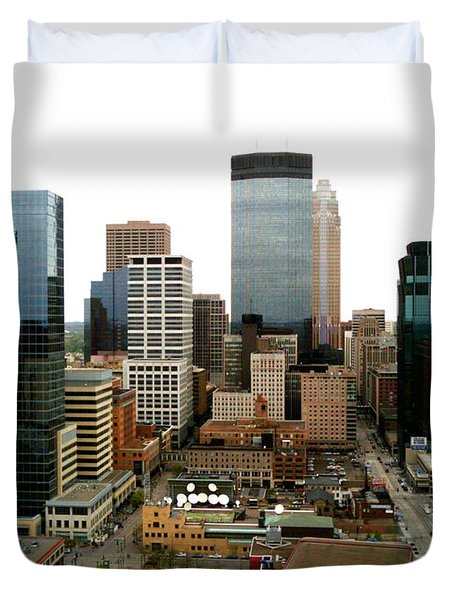 The 35th Floor Duvet Cover