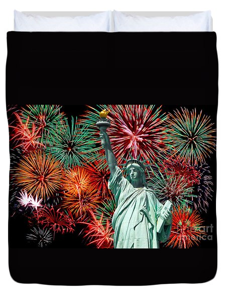 Independance Day Duvet Cover