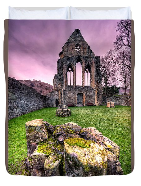 The Abbey  Duvet Cover by Adrian Evans