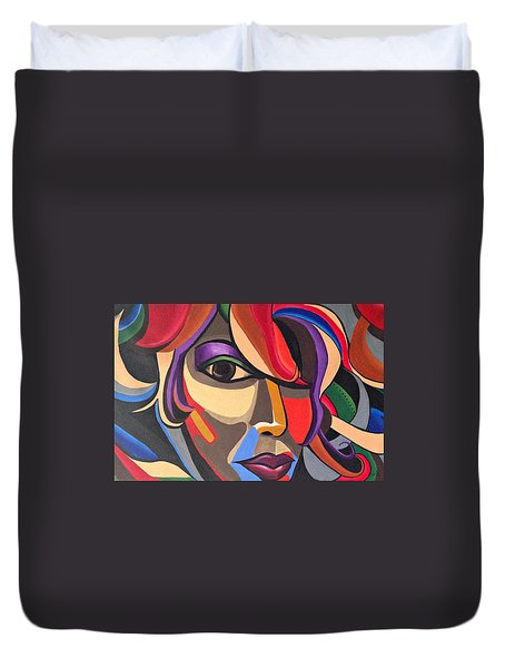 The Abstract Ai Duvet Cover