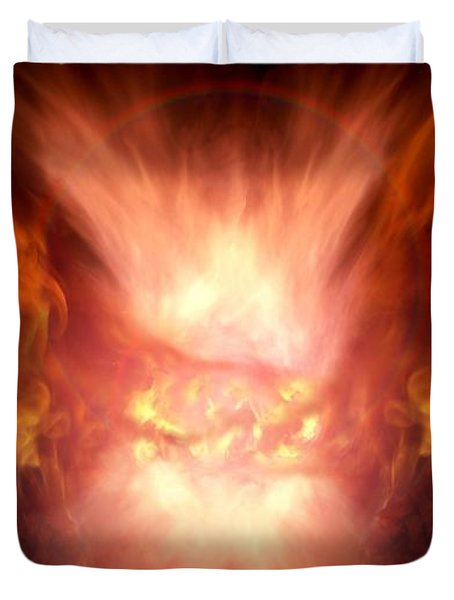 Godess Of Faa Duvet Cover by Bill Stephens