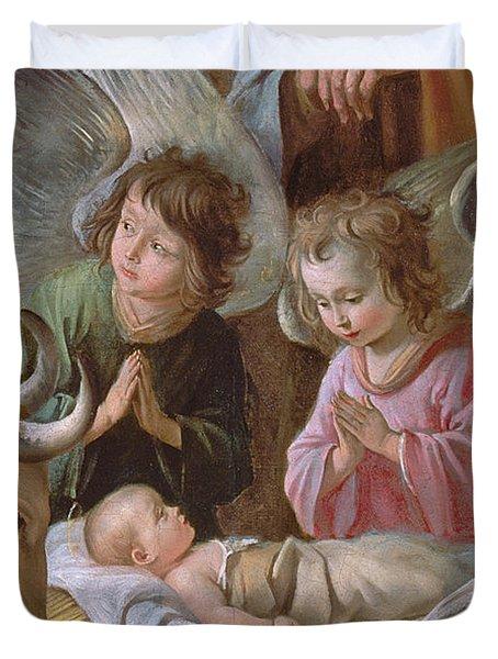 The Adoration Duvet Cover