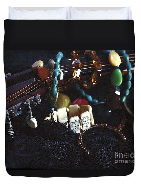 The Adorned Jewel-a Duvet Cover