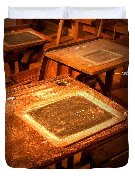 The Aim Of Education Duvet Cover