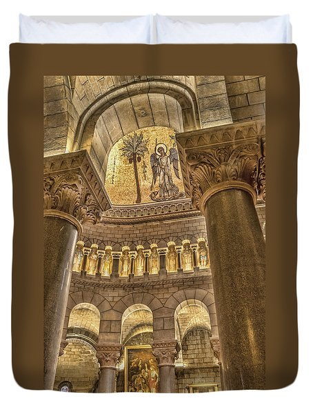 The Angel Duvet Cover by Maria Coulson