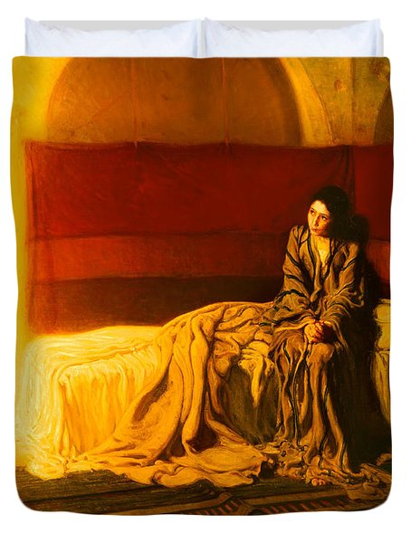 The Annunciation Duvet Cover by Mountain Dreams