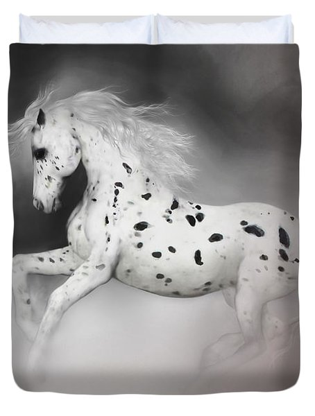 The Appaloosa Duvet Cover