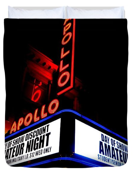 The Apollo Theater Duvet Cover by Ed Weidman