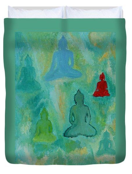 Buddhas Appear Duvet Cover
