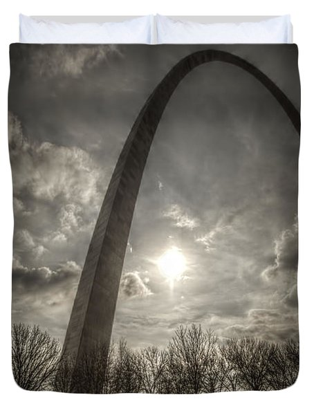 The Arch Duvet Cover