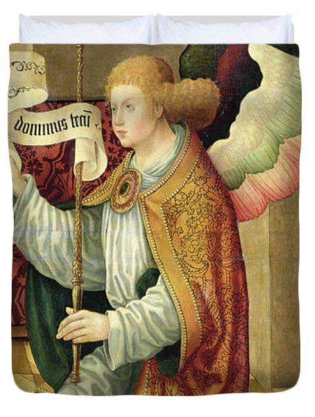 The Archangel Gabriel Duvet Cover