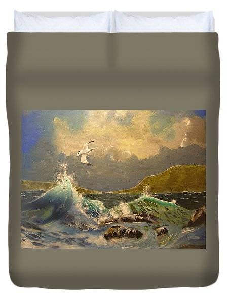 The Arctic Tern Duvet Cover