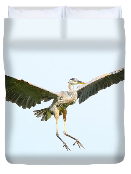 The Arrival Duvet Cover by Heather King