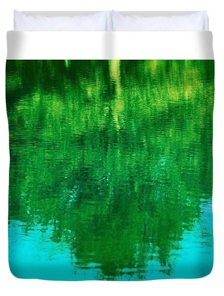 Duvet Cover featuring the photograph Art Of Nature by Kellice Swaggerty