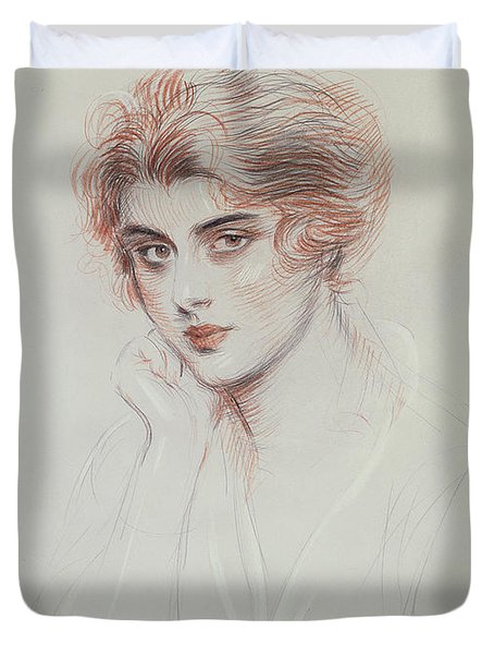 The Artists Daughter Duvet Cover