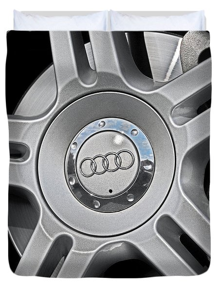 The Audi Wheel Duvet Cover
