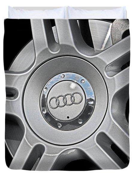The Audi Wheel Duvet Cover