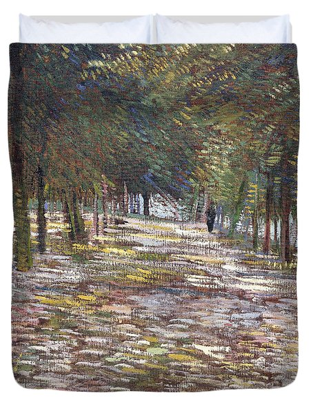The Avenue At The Park Duvet Cover
