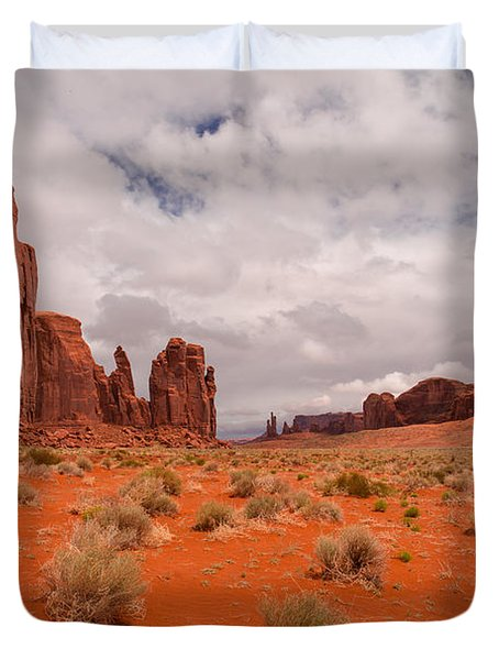 The Awakening Monument Valley Duvet Cover