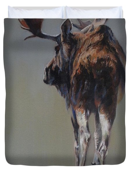 The Bachelor Duvet Cover by Mia DeLode