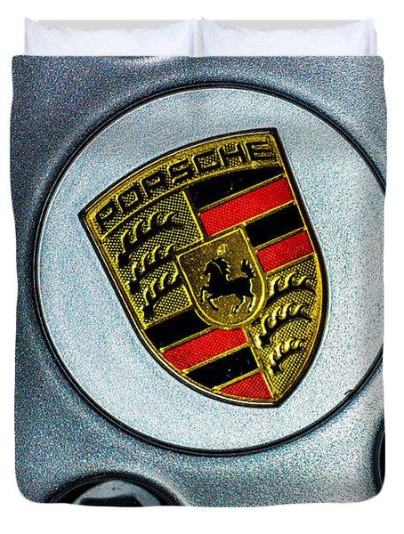 The Badge Duvet Cover